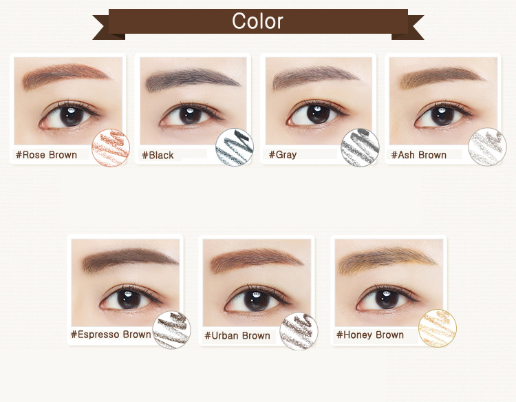 Innisfree Auto Eyebrow Pencil 0 3g 7 Colors To Choose