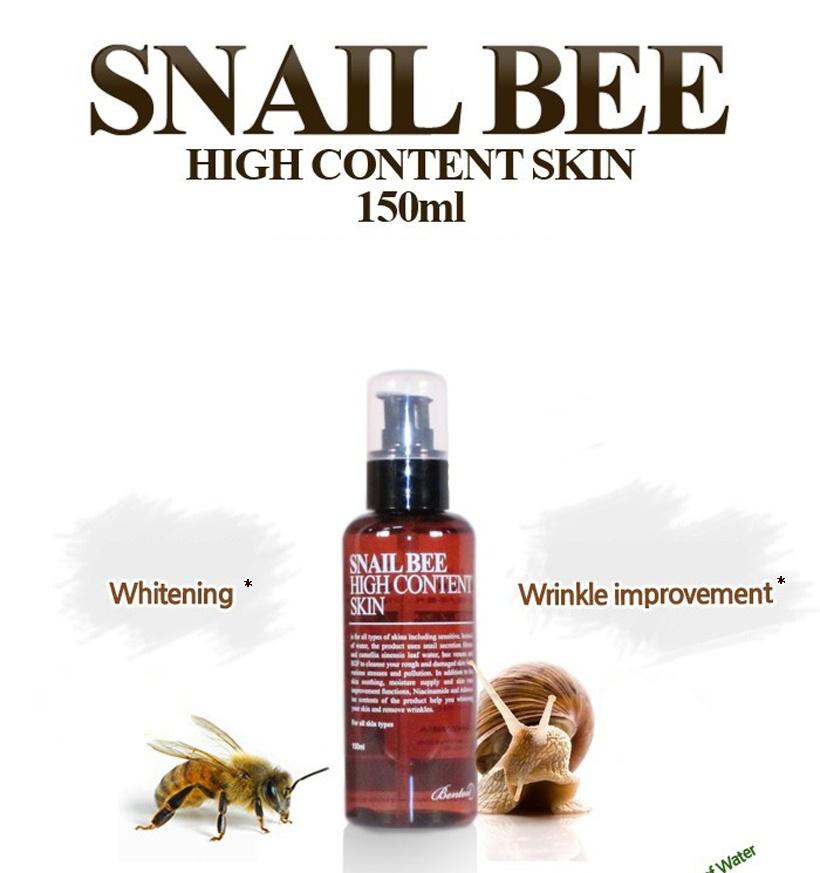 Resultado de imagem para Snail bee high content skin - 150ml