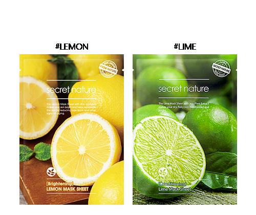 Secret Nature Conditioning Lime Mask Sheet 5 Pack ChapStick Skin Protection Sunscreen Moisturizer, Original SPF 12 0.15 oz (Pack of 2)