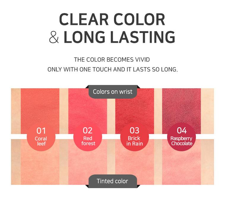 Secret Nature Matte Lip Lacquer 4 5g [4 Types To Choose]