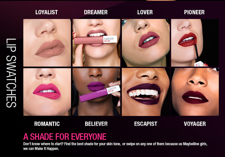 Maybelline Superstay Matte Ink 5ml Hermo Online Shop Malaysia