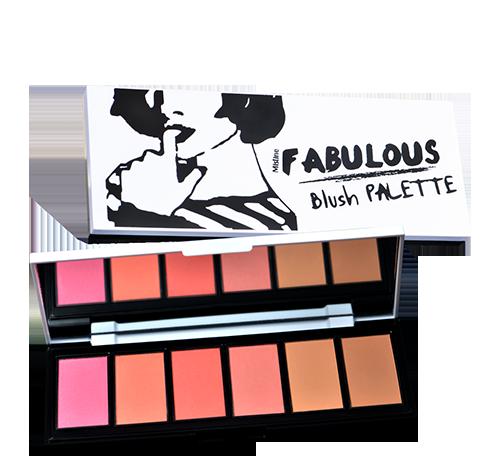 Mistine Fabulous Blush Palette [EXP MAR'20]