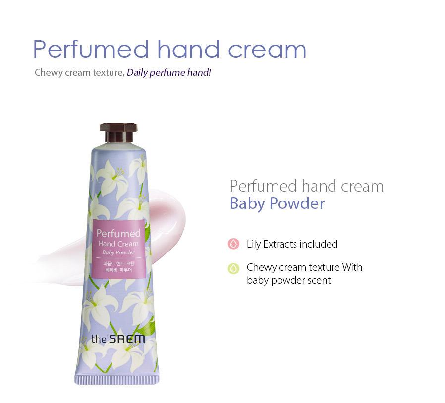 The Saem Perfumed Hand Cream 30ml [5 Types To Choose]