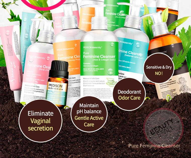 Pedison Maternity Pure Feminine Cleanser (Liquid) 300ml [5 Types To Choose]