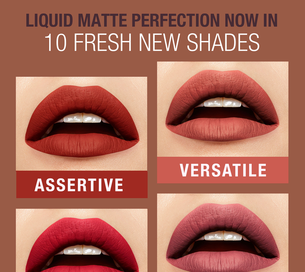 Maybelline Superstay Matte Ink 5ml 28 Colors To Choose
