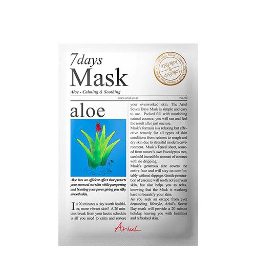 Ariul Aloe 7 Days Mask