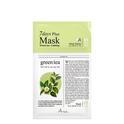 Ariul Green Tea Seven Days Plus Mask