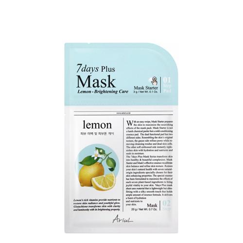 Ariul Lemon Seven Days Plus Mask