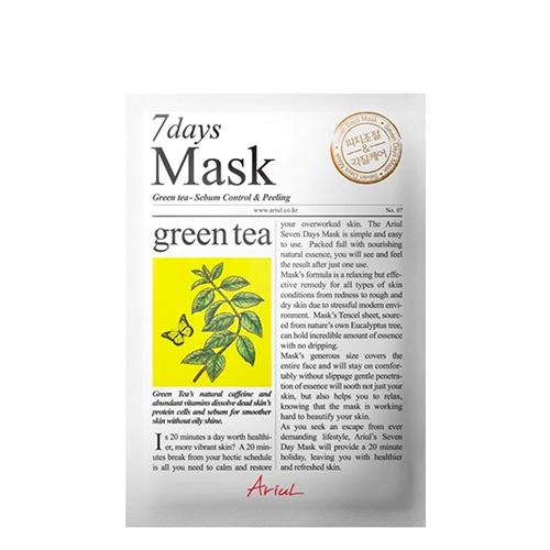 Ariul Green Tea 7 Days Mask