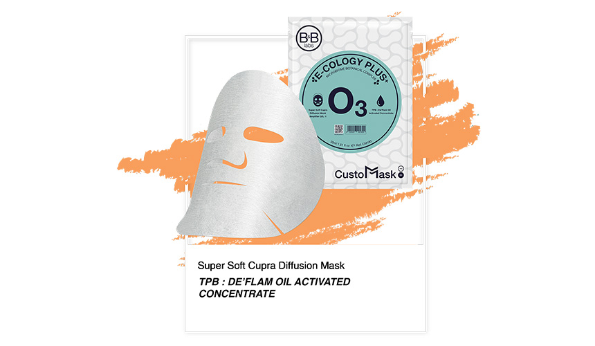 B&B Labs O3 Custo Mask