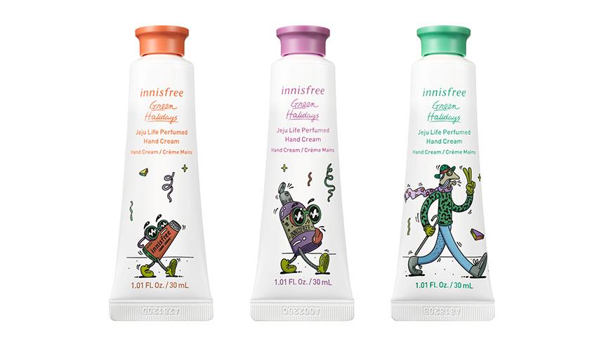 [Green Holidays 2020] Innisfree Jeju Hand Cream Set