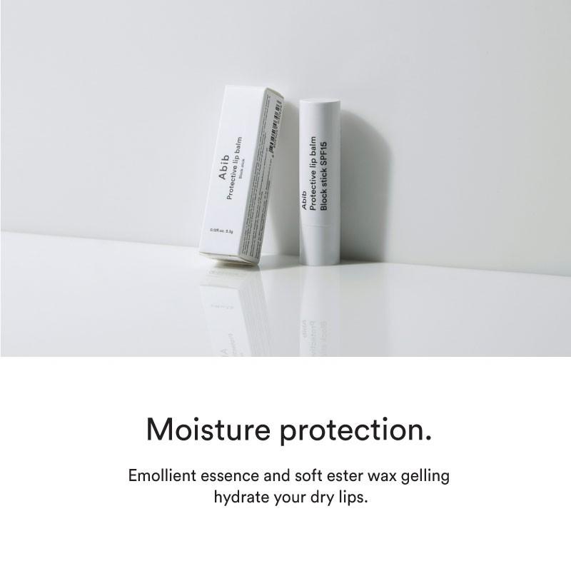 Abib Protective Lip Balm Block Stick SPF15 3.3g