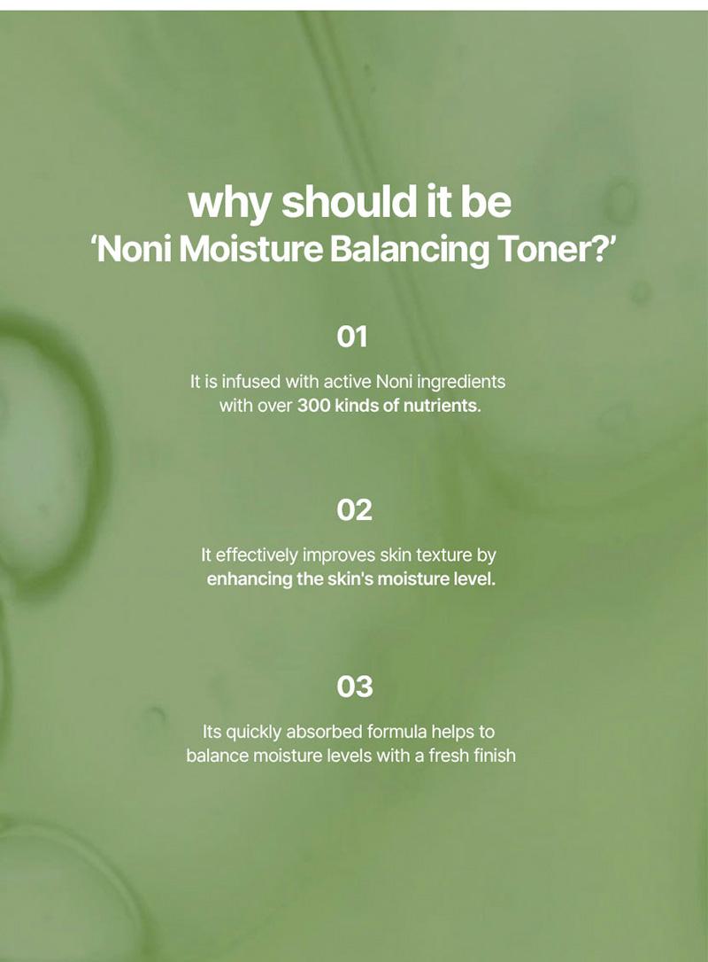 Celimax The Real Noni Moisture Balancing Toner