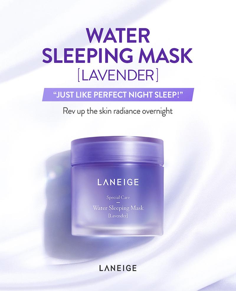 Laneige Water Sleeping Mask 70ml [#Lavender]