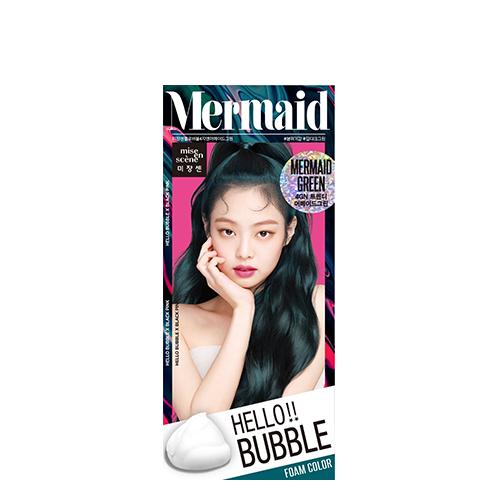 Mise En Scene Hello Bubble Hair Color #4GN Mermaid Green