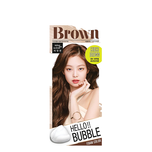 Mise En Scene Hello Bubble Hair Color #6N Choco Brown