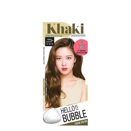 Mise En Scene Hello Bubble Hair Color #7K Ash Khaki Brown