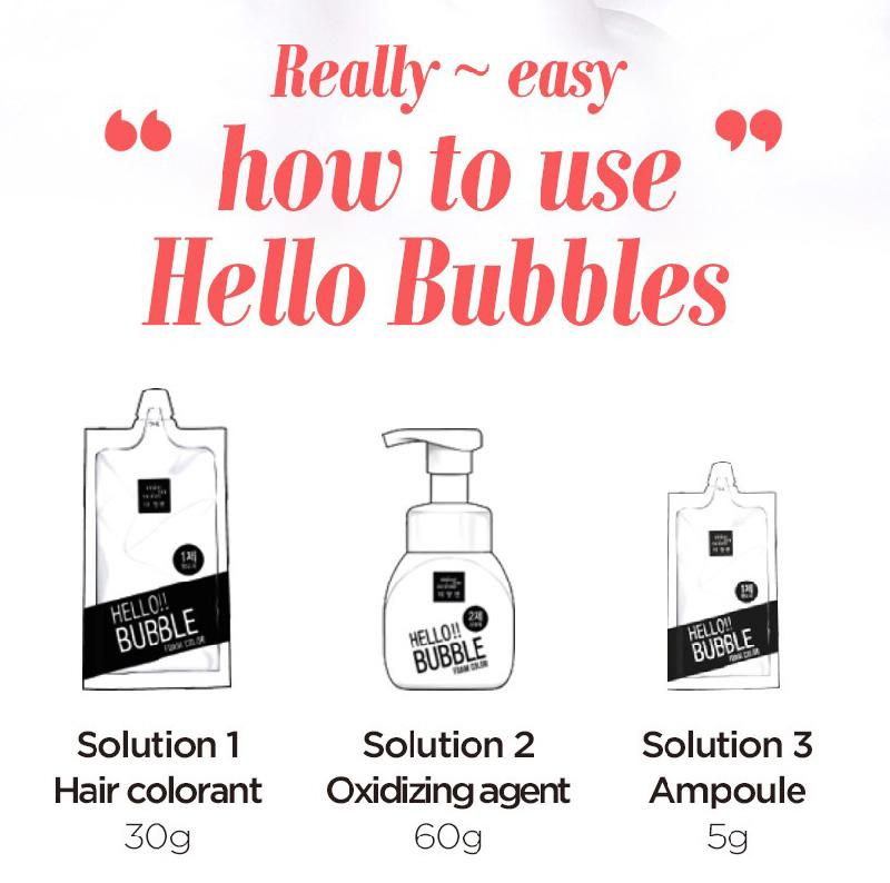 Mise En Scene Hello Bubble Hair Color