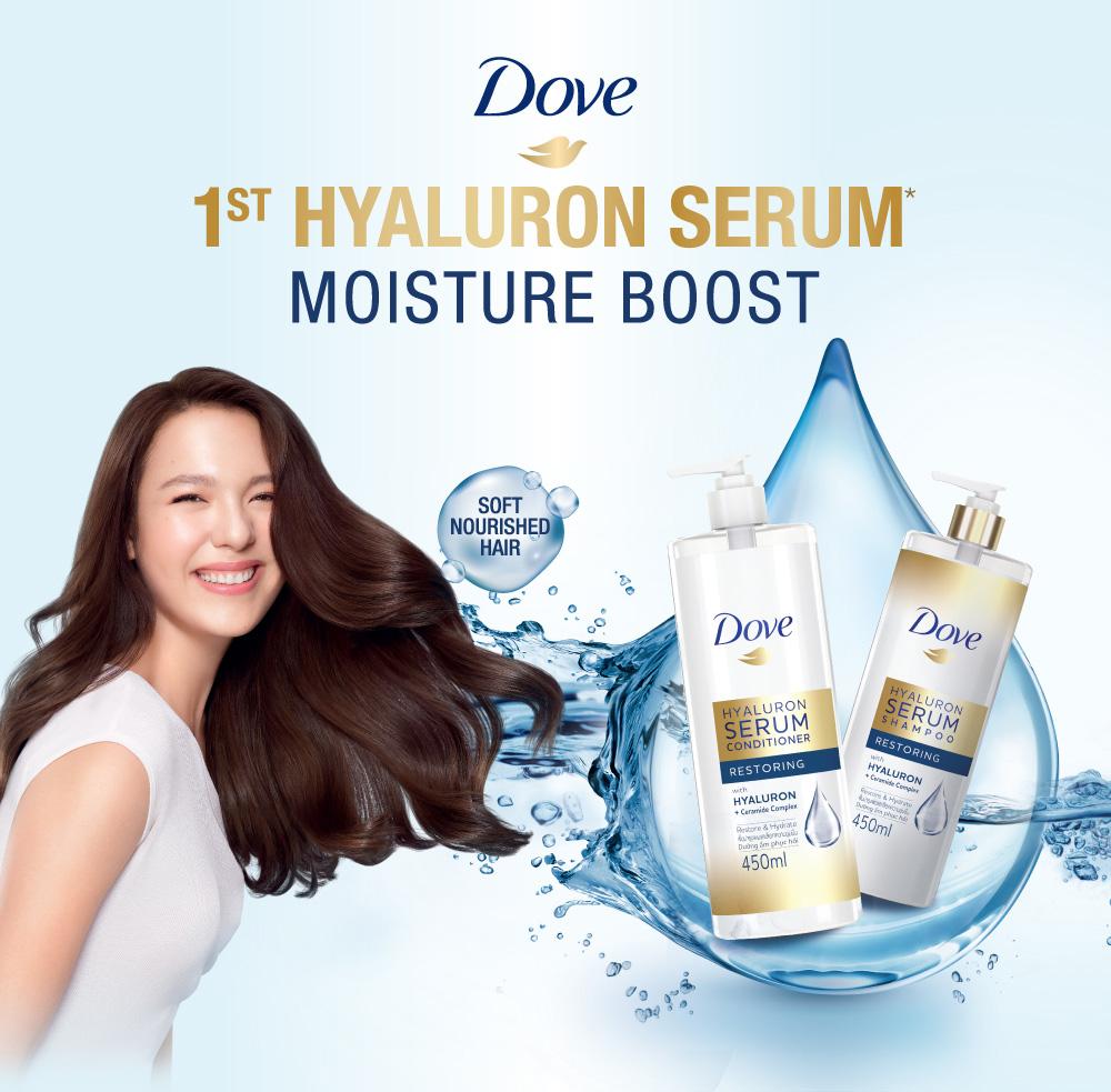 Dove Hyaluron Serum Shampoo Restoring 450ml