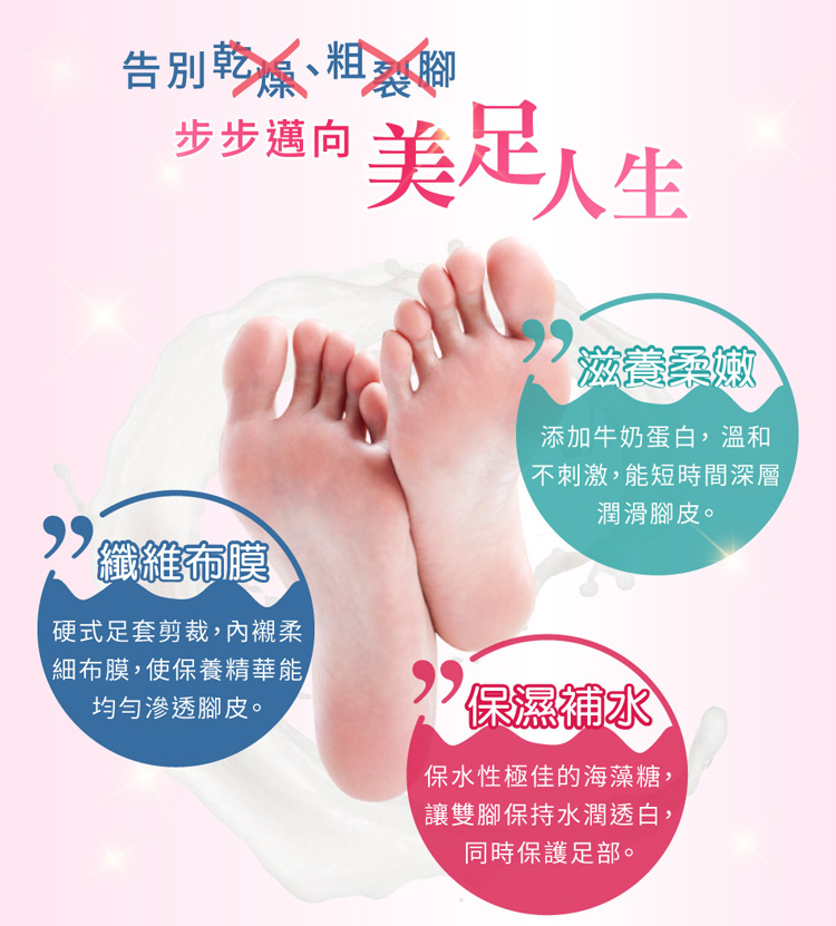My Scheming Moisturizing Delicate Foot Mask 1pair