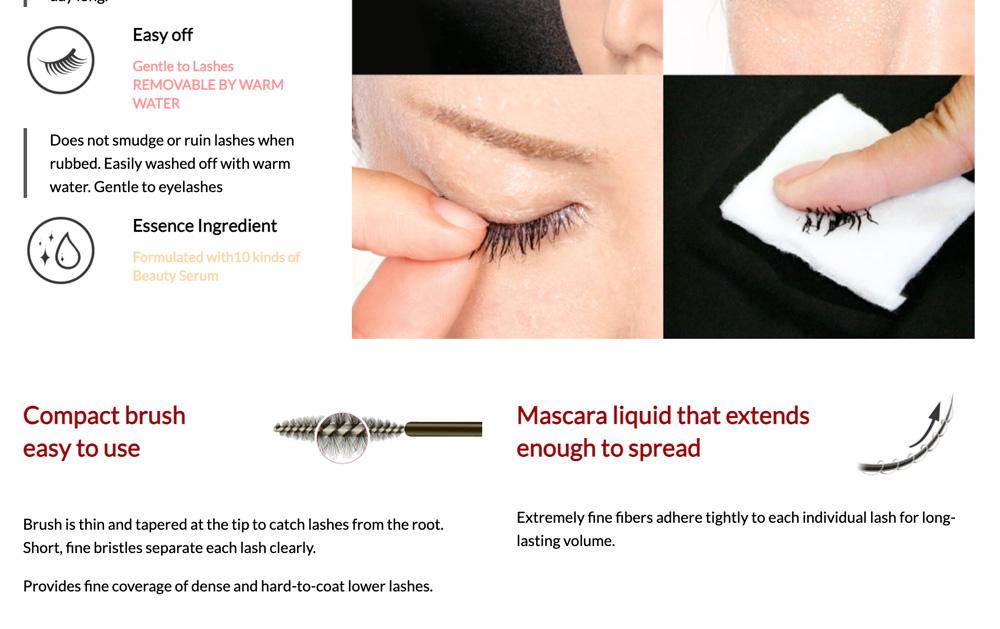 D.U.P Eyeliner & Mascara Set