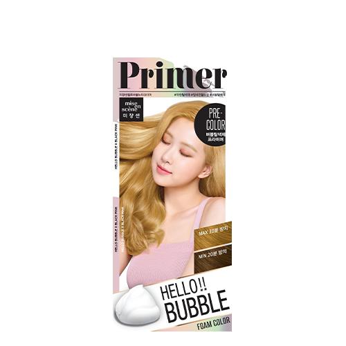 Mise En Scene Hello Bubble Hair Color Primer