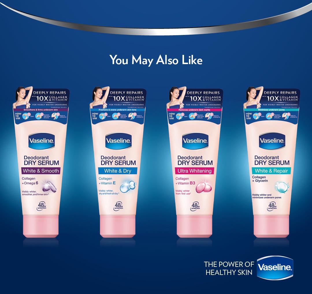 Vaseline Deodorant Dry Serum White & Repair 50ml
