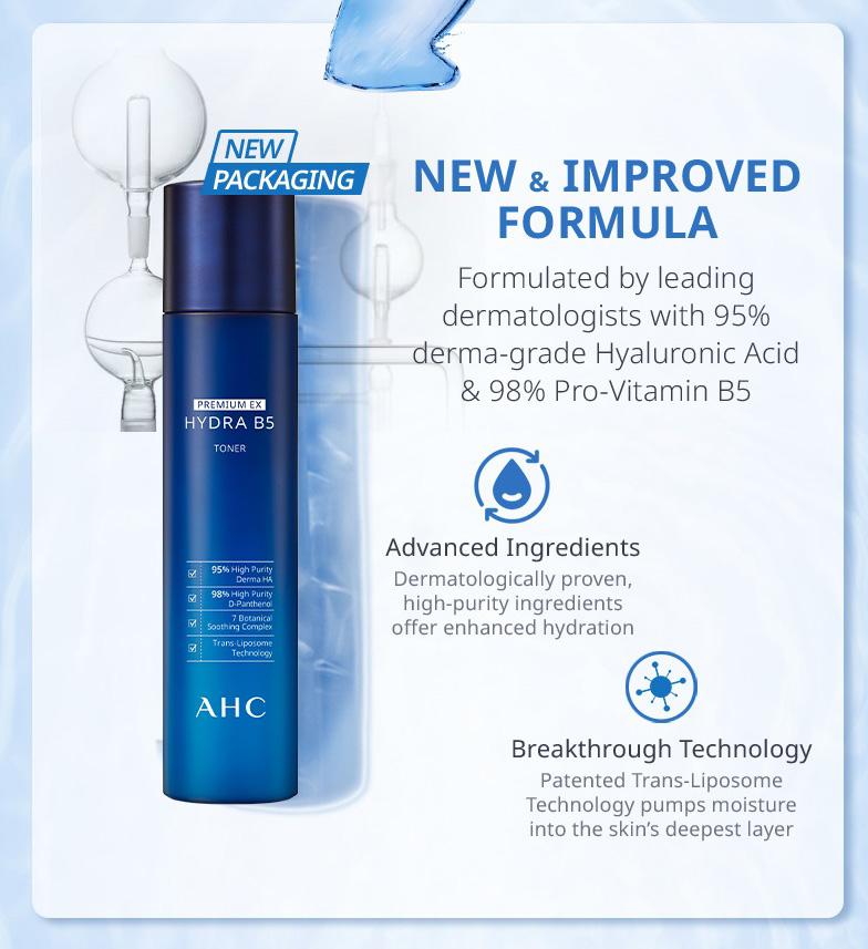 AHC Premium EX Hydra B5 Toner 140ml