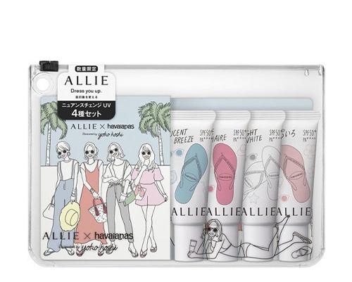 [Allie x Havaianas] Nuance Change UV Gel Happy Share Set