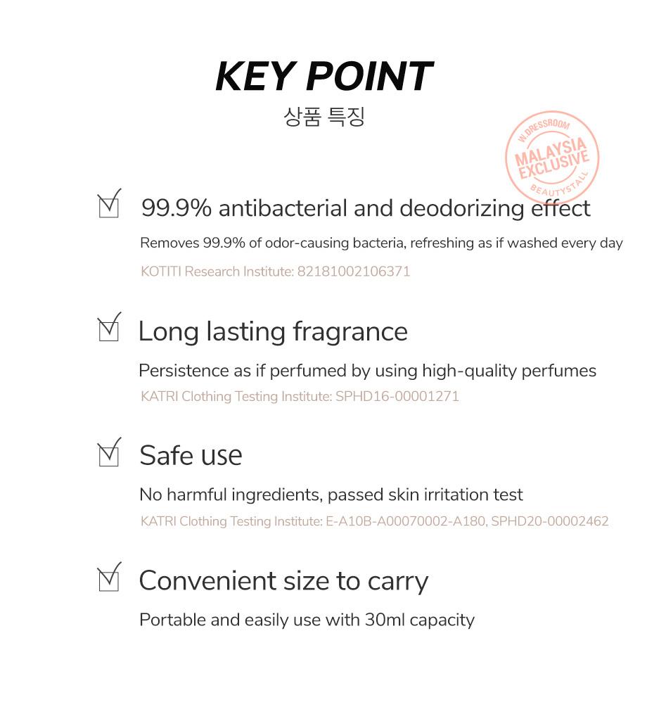W.Dressroom Dress & Living Clear Perfume 30ml