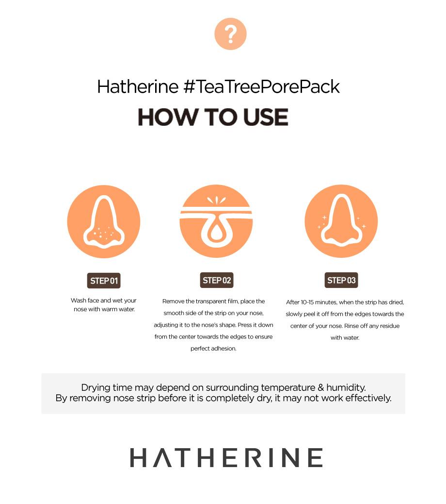 Hatherine Tea Tree Pore Pack
