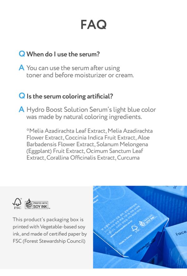 Face Republic Hydro Boost Hyaluronic Serum 40ml