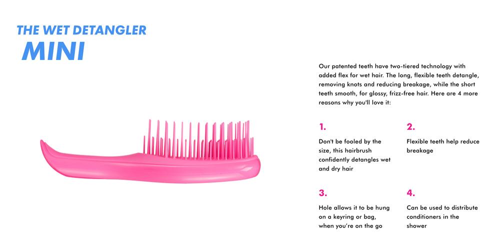 Tangle Teezer Wet Detangler Hairbrush