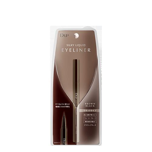 D.U.P Silky Liquid Eyeliner WP #Brown Black