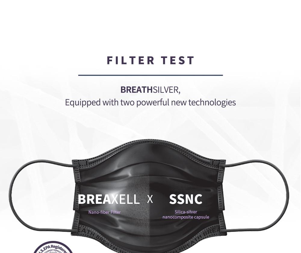 [BTS Tinytan Edition] Breath Square Mask 3pcs