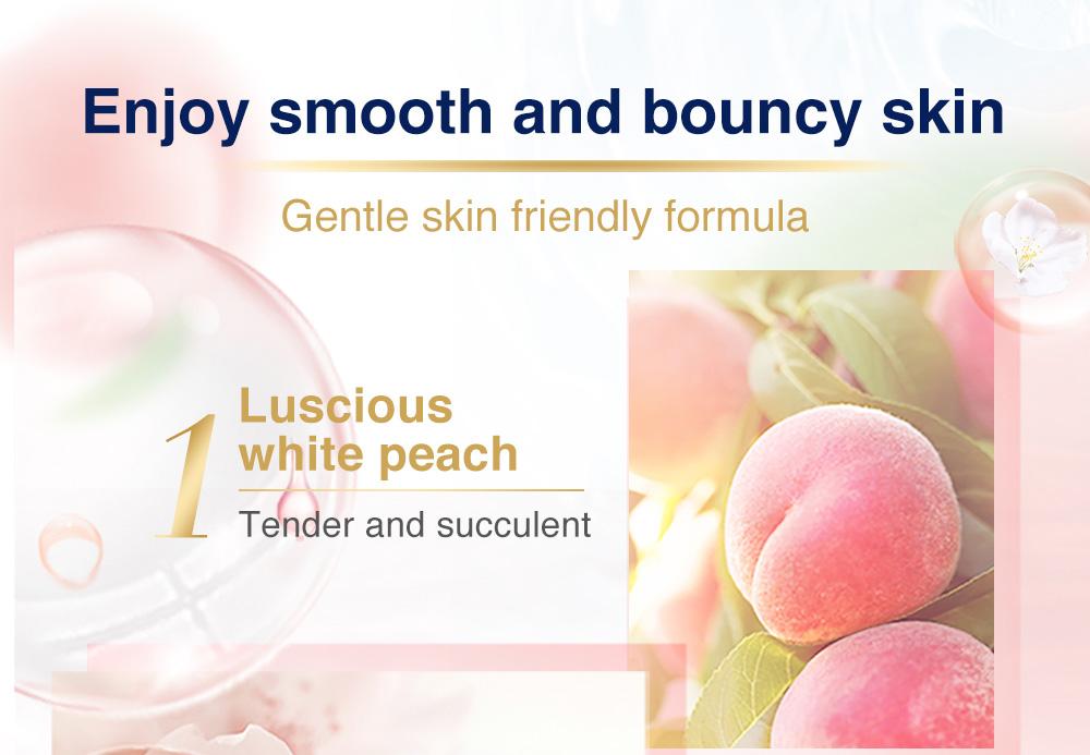 Dove Go Fresh Shower Gel White Peach x White Tea