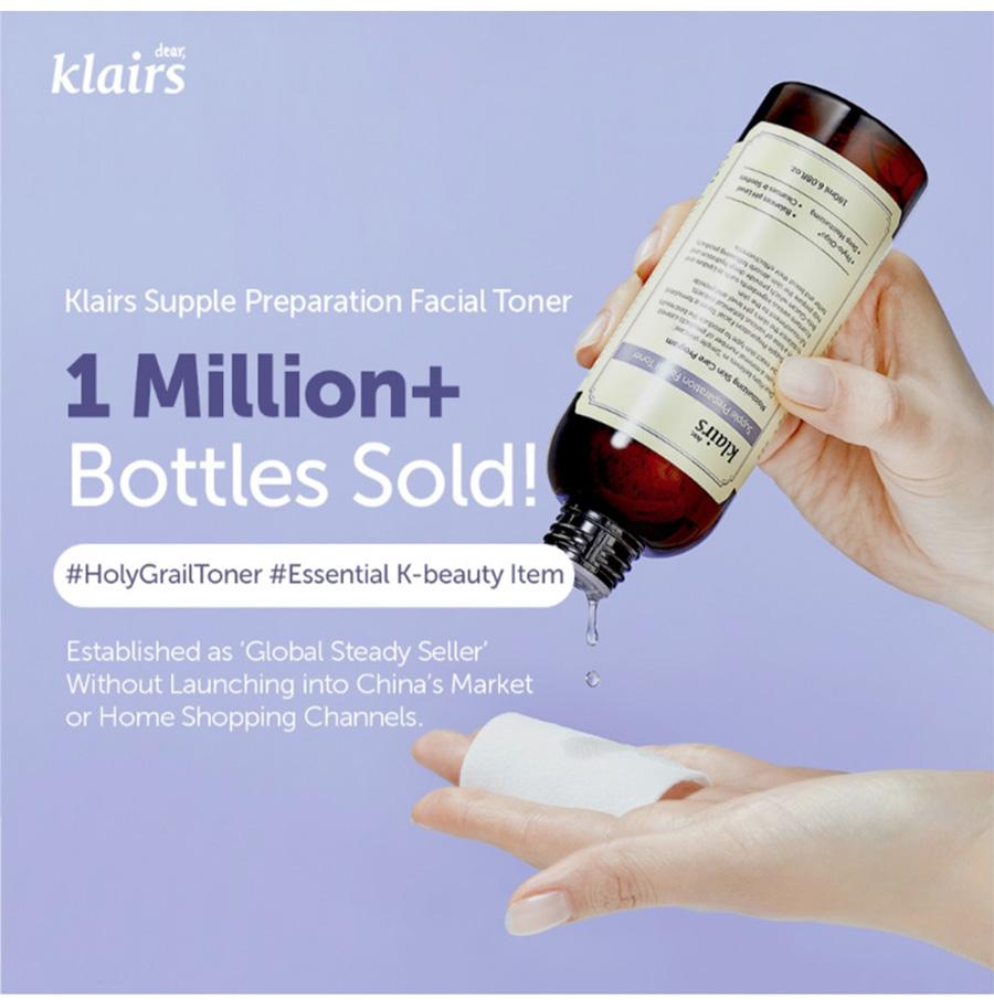 Klairs Supple Preparation Toner 180ml