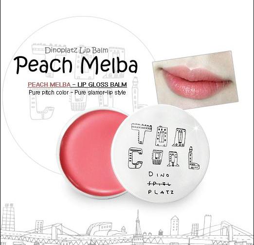 Too Cool For School Dinoplatz Lip Balm 13g [#Peach Melba] - Hermo ...